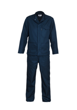 Navy Long Sleeve Continental Suit