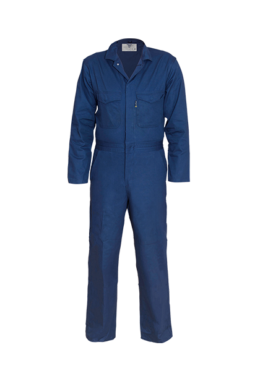 Blue artisan suit