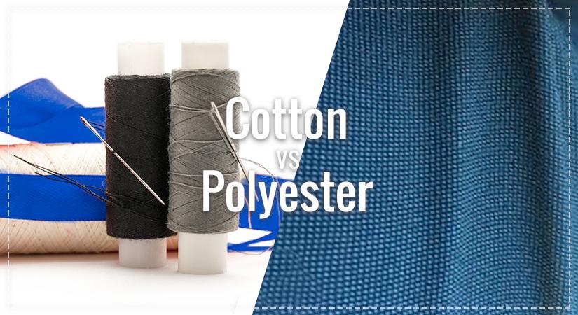 100% cotton vs Polyester