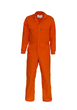 Orange engineers suit