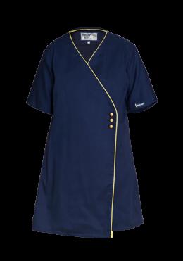Blue & Gold Ladies Hospitality Dress