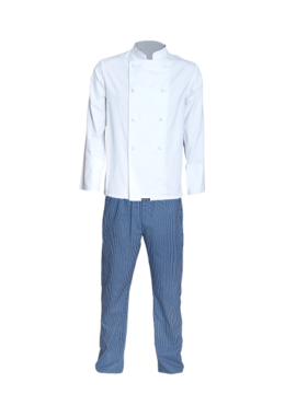 Two Piece Chef Suit