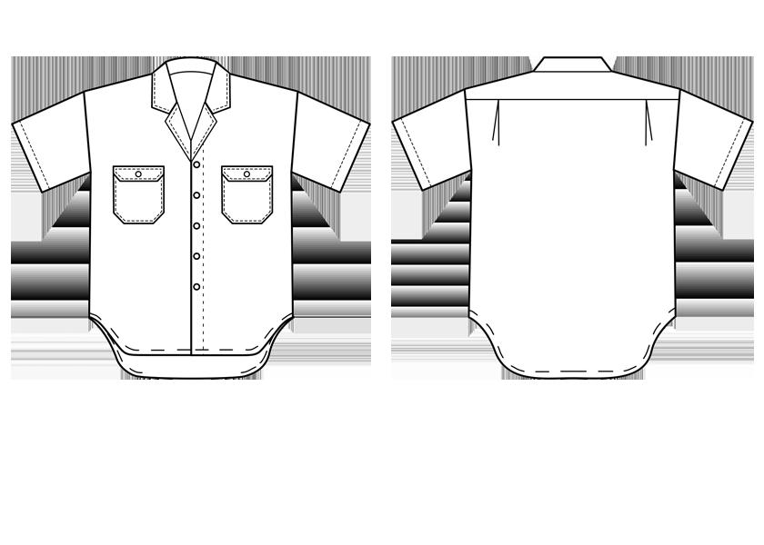 short sleeve denim shirt with glad neck sweet orr. Black Bedroom Furniture Sets. Home Design Ideas