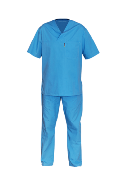 Blue Medical Scrubs