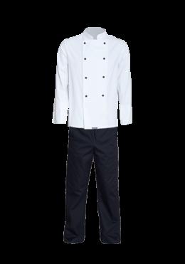 Ladies Two Piece Chef Suit