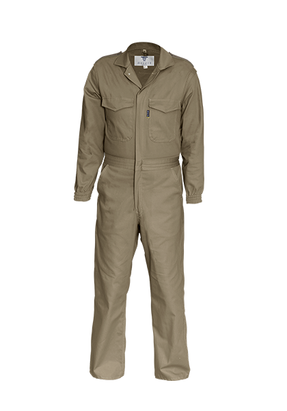 Cuffed Sleeve Boilersuit with Epaulette Detail