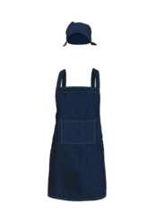 Full Length Denim Bib Apron