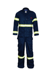 Two Piece Suit with High Vis Detail