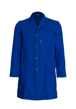 Long Sleeve Dustcoat with Button Closure