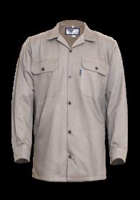 The male long sleeve cotton Poplin shirt