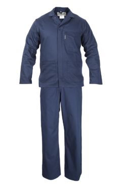 J54 - Conti Navy Blue Heavy Duty Overall