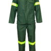 The Continental Acid Repellant Two-piece High-visibility Overall