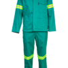 The Continental flame retardant two-piece high-visibility overall