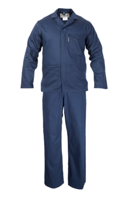 The Continental - Navy Blue - Two Piece Overall