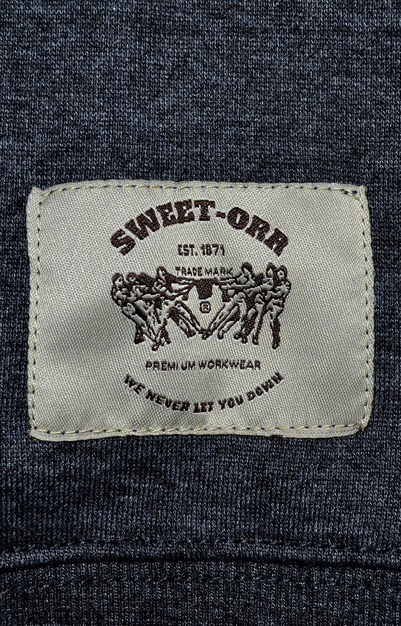 Sweet-Orr Charcoal Hoodie Macro