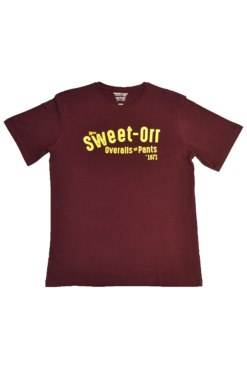 The Elsies-Maroon Tee Sweet-Orr