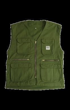 Sweet-Orr Olive Camera Jacket