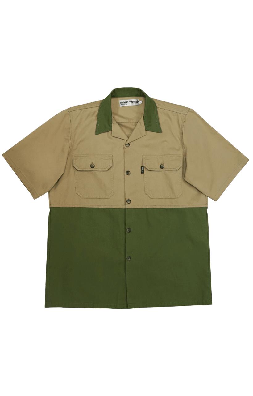 Sweet-Orr Open Collar 2 Toned Workshirt