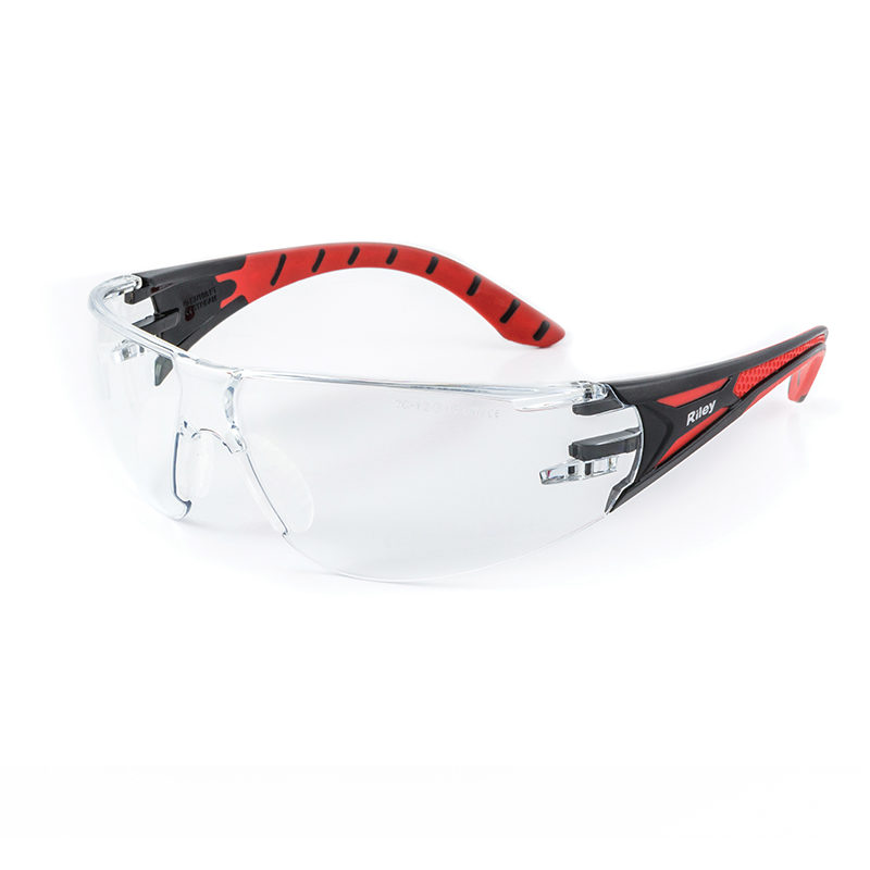 Sweet-Orr Stream Red Clear Safety Glasses