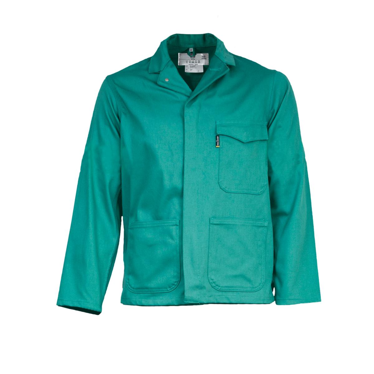 Sweet-Orr Fern Green Flame Retardant Overall Jacket