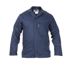 Sweet-Orr Navy Blue Continental Flame Retardant Overall Jacket