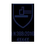 EN:388 2016 4X44X
